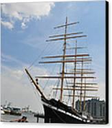 Tall Ship Mushulu At Penns Landing Canvas Print