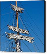 Tall Ship Rigging Canvas Print