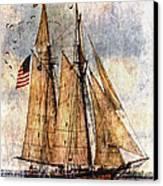 Tall Ships Art Canvas Print