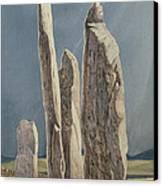 Tall Stones Of Callanish Isle Of Lewis Canvas Print