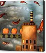 Tangerine Dream Edit 2 Canvas Print by Leah Saulnier The Painting Maniac