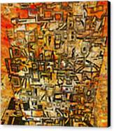 Tangerine Dream Canvas Print by Jack Zulli