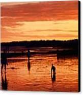 Tangerine Sands Canvas Print