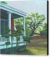 Tante Huppe Inn Canvas Print by Ellen Howell