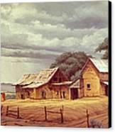 Taos Homestead Canvas Print by Paul Krapf