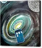Tardis Canvas Print by John Lyes