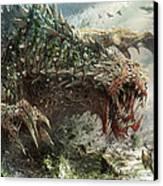 Tarmogoyf Reprint Canvas Print