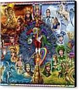 Tarot Of Dreams Canvas Print