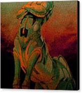 Tarot The Chariot Canvas Print by Eric Bakke