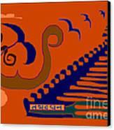 Tathadadhana Canvas Print by Meenal C
