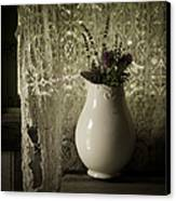 Tattered Canvas Print by Amy Weiss