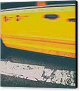 Taxi Taxi Canvas Print by Karol Livote
