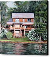 Taylor House Canvas Print by Ellen Howell