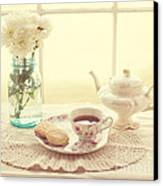 Tea Time Canvas Print by Kay Pickens