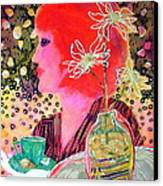 Teabag Canvas Print by Diane Fine
