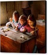 Teacher - Classroom - Education Can Be Fun  Canvas Print