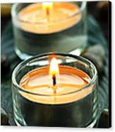 Tealights Canvas Print