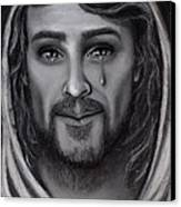 Tears Of Joy Canvas Print by Just Joszie