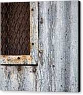 Tears On Steel Canvas Print by Peter Tellone