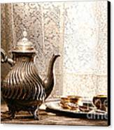 Teatime Canvas Print by Olivier Le Queinec