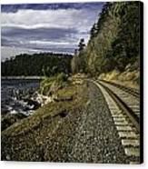 Teddy Bear Cove Railway Canvas Print