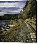 Teddy Bear Cove Railway Canvas Print by Blanca Braun