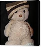 Teddy Wants To Hug You Canvas Print by Catherine Ali