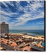 Tel Aviv Summer Time Canvas Print by Ron Shoshani