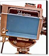 Television Studio Camera Hdr Canvas Print