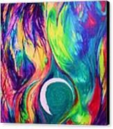 Telsa Canvas Print