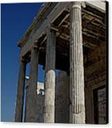 Temple Of The Athena Nike Canvas Print
