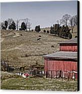 Tennessee Farmstead Canvas Print by Heather Applegate