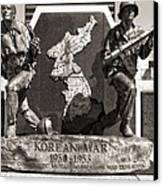 Tennessee Korean War Memorial Canvas Print by Dan Sproul