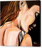 Tess Canvas Print by Debi Starr