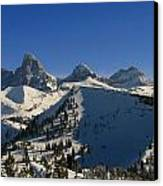 Teton Backcountry Canvas Print