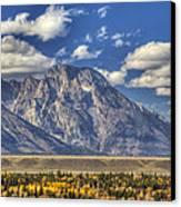 Teton Glory Canvas Print by Mark Kiver