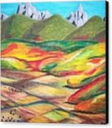 Tetonia Autumn Canvas Print