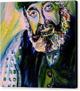Tevye Fiddler On The Roof Canvas Print