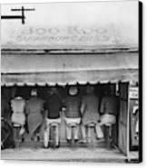 Texas Luncheonette, 1939 Canvas Print