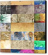 Texture Collage Canvas Print