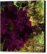 Textured Flora Canvas Print by Ankeeta Bansal
