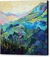 Textured Light Canvas Print by Erin Hanson