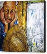 Thai Woman Canvas Print by Doris Cohen