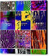 The 12 Tribes Canvas Print by Dov Lederberg