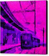 The 7am Train Tnm Canvas Print by Vincent DiNovici