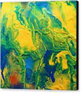 The Abstract Earth Canvas Print by Julia Apostolova