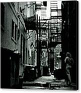 The Alleyway Canvas Print by Michelle Calkins
