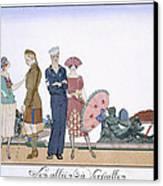 The Allies In Versailles Canvas Print