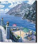 The Amalfi Coast Canvas Print by John Zaccheo