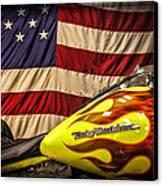 The American Ride Canvas Print